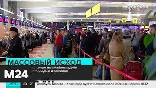 30 декабря станет самым напряженным днем для московских аэропортов и вокзалов - Москва 24