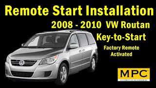 2008-2010 Volkswagen Routan - Key-to-Start - Gas