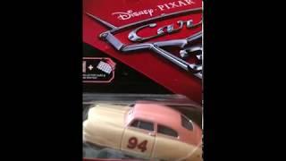 Mattel Disney Cars 3 2017 Die-Cast Louise Barnstormer Nash + Bonus Collector Card and Mini Poster