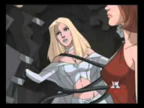 X Men Cyclops And Emma Frost Jean Grey vs Em...