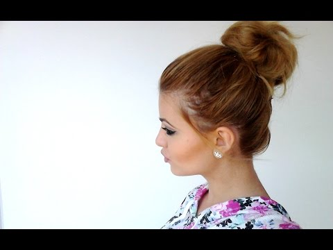 How To Big Messy Bun For Short Hair