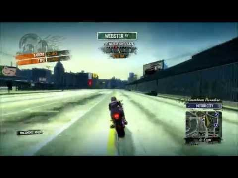 Burnout Paradise - Gameplay [04] Burning Ride - Drive East to the waterfront plaza in 2 min 40 segs