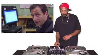 Michael Scott The Office (DJ ERNZ Video Remix)