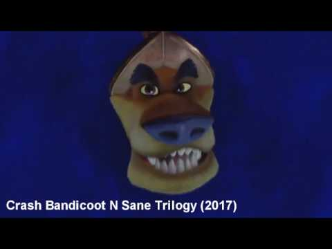 Other Crash Bandicoot voice actors reprising their previous roles in the N Sane Trilogy