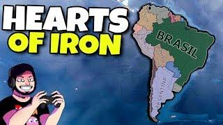 Brasil vs Eua #03 | Hearts of Iron IV | Gameplay em Português PT-BR