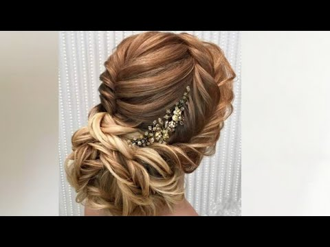 most beautiful easy wedding hairstyles youtube. Black Bedroom Furniture Sets. Home Design Ideas