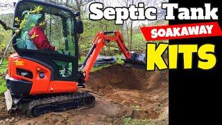 septic tank and soakaway kit