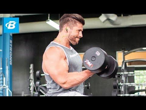 Arm Building Superset Workout | Brian Casad