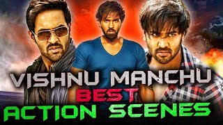 Vishnu Manchu Best Action Scenes | South Indian Hindi Dubbed Best Action Scenes