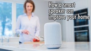 How a smart speaker can improve your home