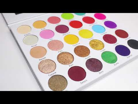 GLF Cosmetics palette- PRINCESA AZTECA