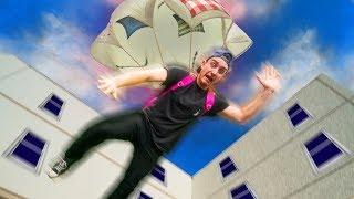 I Made A DIY Parachute!