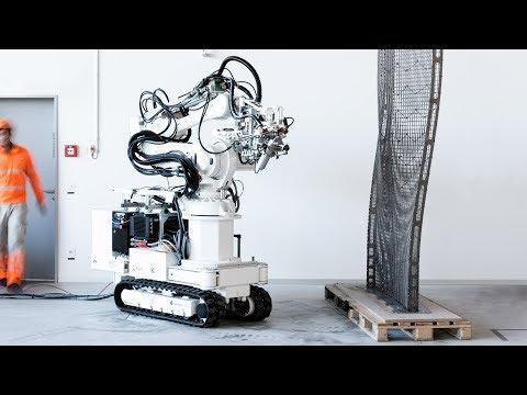 ETH Zurich unveils plans for robot-built house in Dübendorf