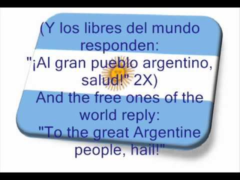 Argentine National Anthem, Himno Nacional Argentino