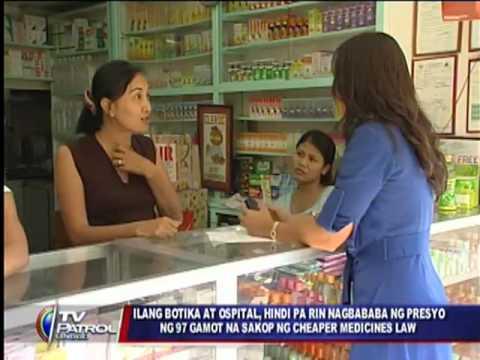 Drugstores told: Follow Cheaper Medicines law