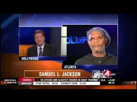 "Samuel L. Jackson Tells L.A. TV Anchor ""I Am Not Laurence Fishburne"""