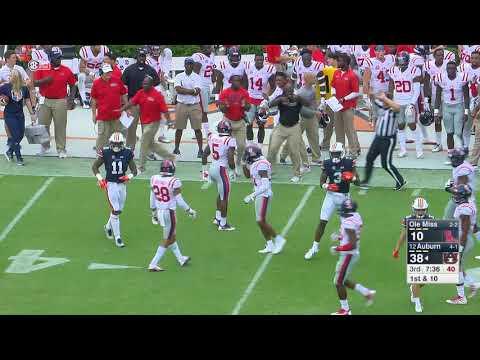 Auburn Football vs Ole Miss Highlights