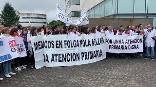 Protestas de los profesionales de Atención Primaria