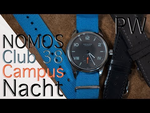 In Review: NOMOS Club 38 Campus Nacht - A Watch for the College Grad and Trendy Dad