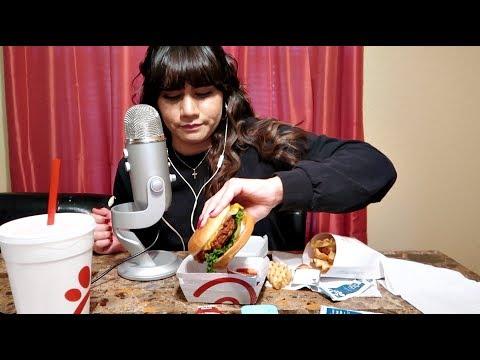 Asmr | Eating Chick-fil-A