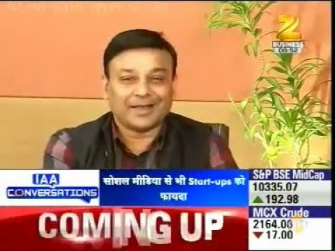 Dinesh Agarwal talks about  StartUps in India on ZEE Business