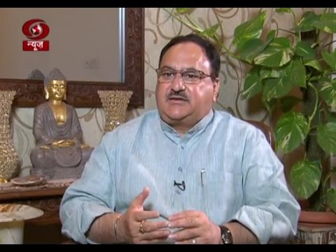 Late Edition:- Interview of Union Health Minister J P Nadda