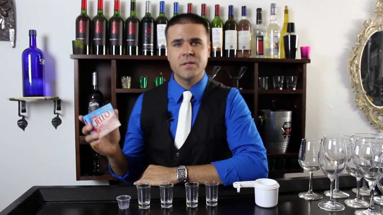 how to make jello shots with vodka youtube