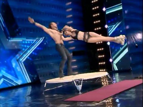 Видео, Шоу талантов в Грузии безумный танец на роликах