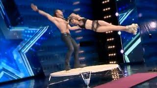Шоу талантов в Грузии безумный танец на роликах
