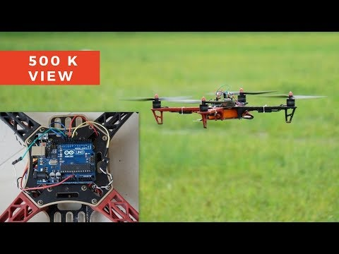 How To Make A Flying Drone | DIY Arduino Drone | Indian Life