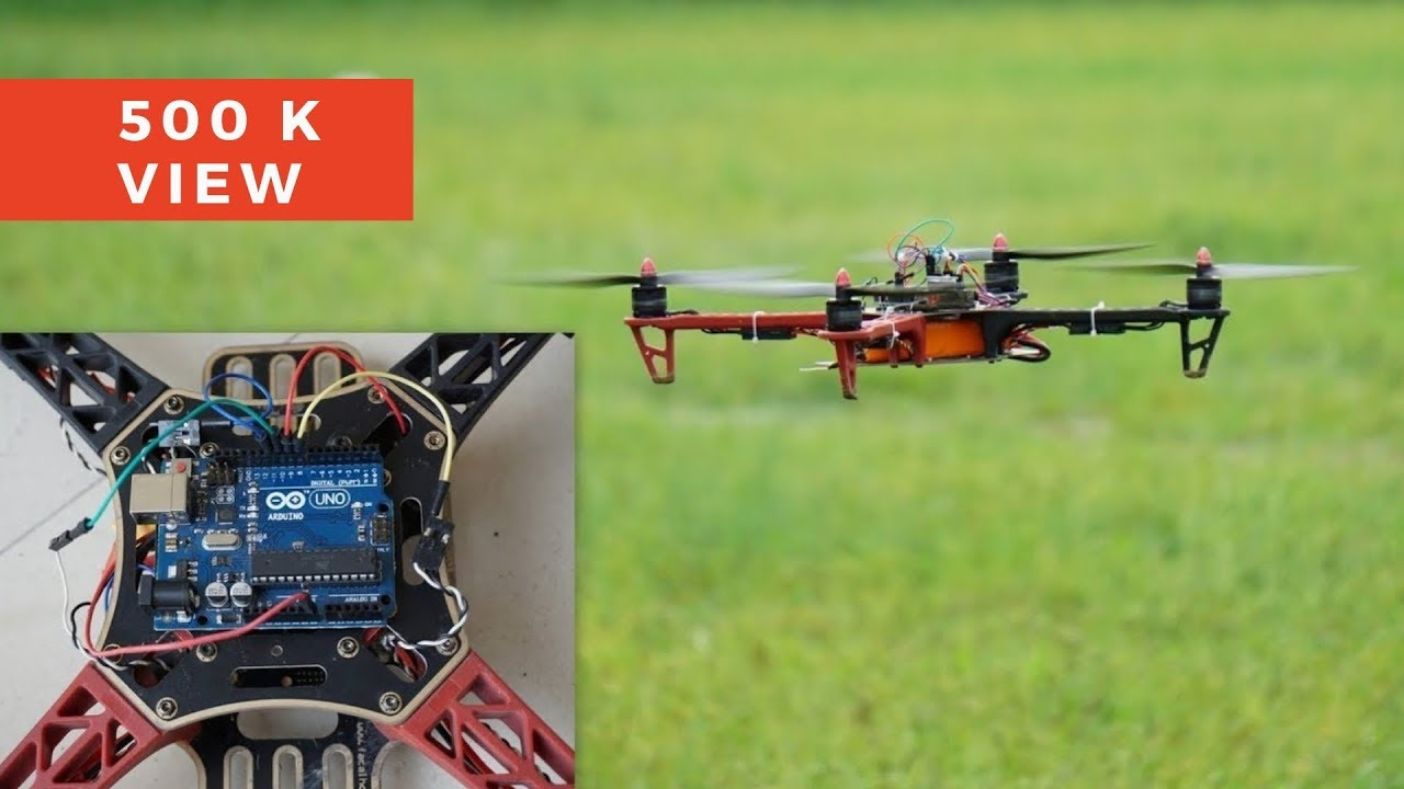 How to make a flying drone diy arduino indian
