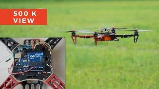 How To Make A Flying Drone | DIY Arduino Drone | Indian LifeHacker