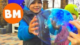 Челлендж ПЛАСТИКОВЫЙ ПУЗЫРЬ | Magic Goo Balloon Challenge