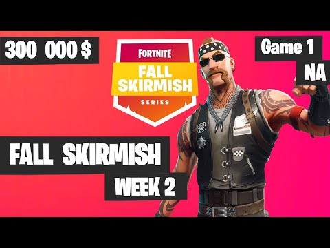Fortnite Fall Skirmish Week 2 Game 1 NA Highlights (Group 2) - Royale Flush