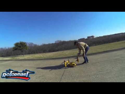 V-22 Osprey - Wingstow footage