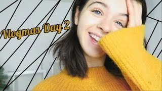DEAD FROM PARTY! :'( Vlogmas day 2 | ChloeLock