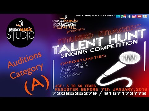 Muso Magic Talent Hunt | Singing Competition | Day 1 Category (A)
