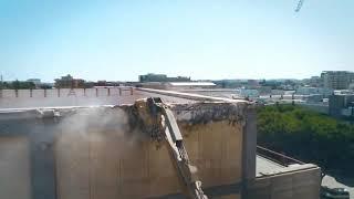 Colasanto Demolizioni - Demolizione SAT del Politecnico di Bari