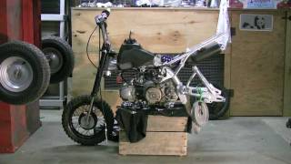 MOTORCYCLE PROJECT VIDEO PITBIKE - HONDA XR 50