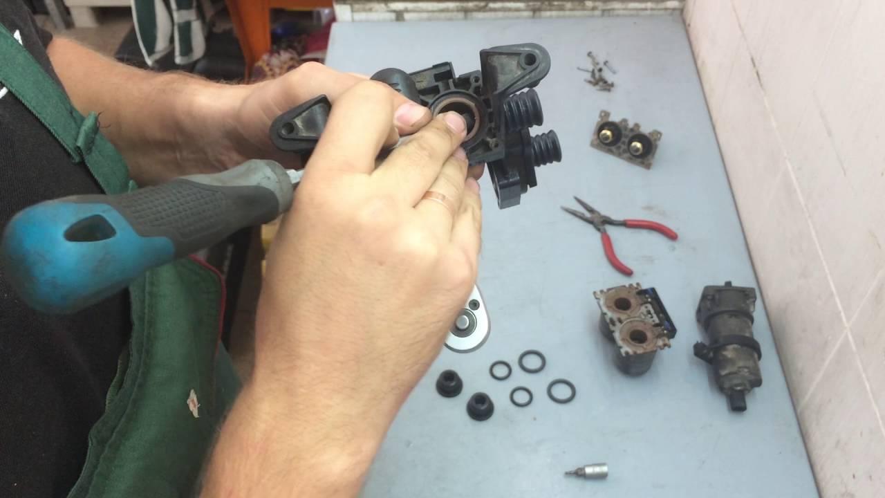 Ремонт клапанов печки BMW E39