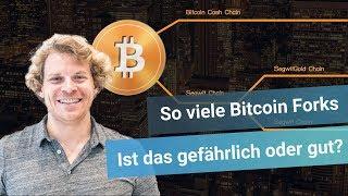 So viele Bitcoin Forks - Ist das gefährlich oder gut?