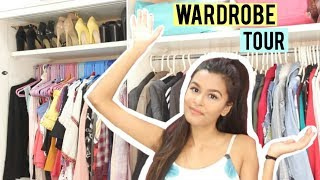Wardrobe Tour (Storage and Organisation) / India 2018