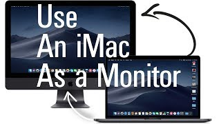 use An iMac As a Monitor