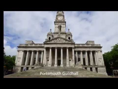 PORTSMOUTH GUILDHALL, VICTORIA PARK & THE SURROUNDING AREA