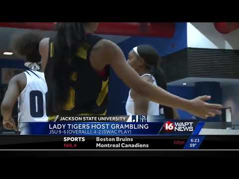 JSU Lady Tigers get the conference win over Grambling