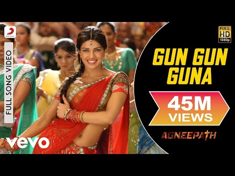 Agneepath  Hrithik Roshan, Priyanka Chopra  Gun Gun Guna