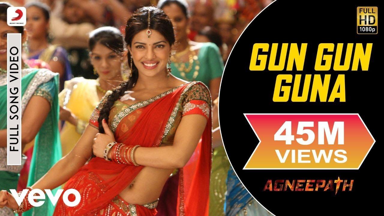 Ajay-Atul - Gun Gun Guna Best Video|Agneepath|Priyanka Chopra|Hrithik|Shreya Ghoshal