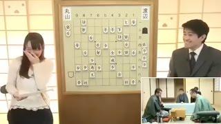【永久保存版】藤田綾が大爆笑!森内俊之九段のプロポーズの言葉とは!?