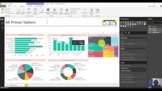Agrega una grafica de parches o treemap a tu informe de Power BI Desktop