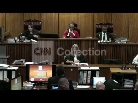 SOUTH AFRICA: PISTORIUS TRIAL RESUMES (MONDAY)